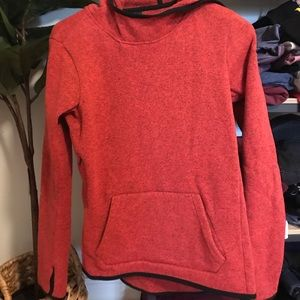 Nike hoodie size small women's